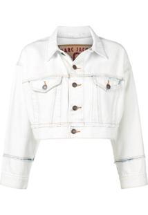 Marc Jacobs Jaqueta Jeans Cropped - Branco