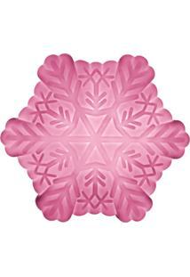Luminária Casa Da Mãe Joana Floco De Neve Rosa