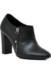 Bota Ankle Boot Carolina Martori Couro - Feminino