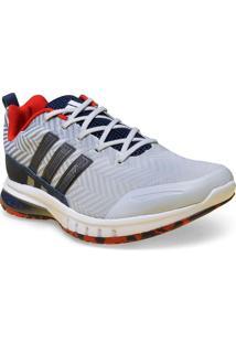 Tenis Masc Adidas H68348 Skyrocket M Cinza/Marinho/Vermelho/Branco