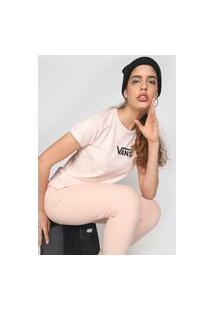 Camiseta Vans Xadrez Race Rosa