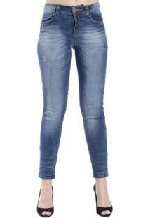 2038af43e ... Calça Jeans Skinny Destonada Colcci - Feminino-Azul