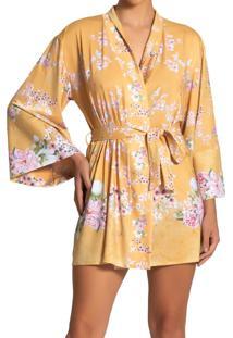 Robe Recco De Supermicro Amarelo - Tricae