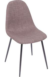 Cadeira Charla- Marrom & Preta- 85,5X45X40Cm- Oror Design