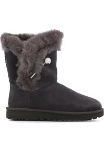 Ugg Australia Mini Bailey Ankle Boots - Cinza