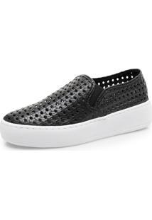 Sapatos Femininos Corello Tenis Preto