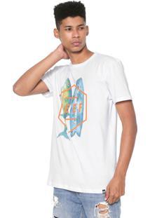 Camiseta Reef Fusion Branca