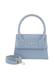 Bolsa Lara Sandiee Mini Bag Azul Bebe