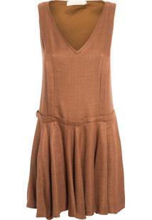 Vestido Twiggy - Marrom