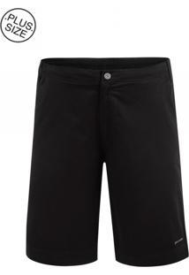 Bermuda Plus Size Elastic Black