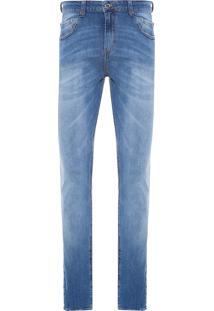 Calça Masculina Slim Ruanda - Azul