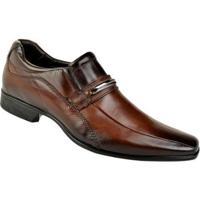 db06085ad0 Sapato Social Couro Rafarillo Masculino - Masculino-Marrom