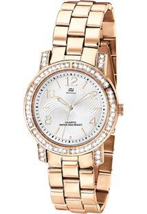 Relógio Champion Analógico Ah20140Z Feminino - Feminino-Rose Gold