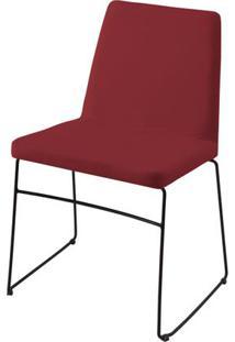 Cadeira Avec Marsala Base Preta - 55905 Sun House