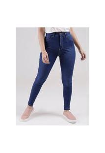 Calça Jeans Push Up Sawary Feminino Azul