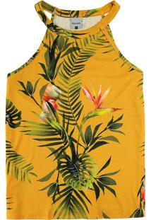 Blusa Amarela Tropical
