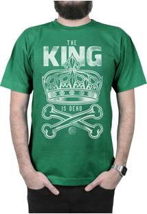 Camiseta Manga Curta Bleed American King Is Dead Verde