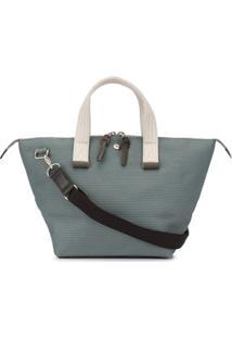 Cabas Mini Bowler Bag - Azul
