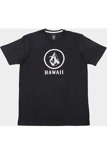 Camiseta Volcom Plus Size Silk Crisp Hi Masculina - Masculino