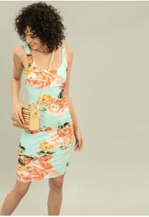 Vestido Justo Mídi Estampa Smiths Beach - Lez A Lez