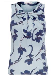 Blusa Feminina Prímula - Azul