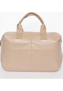 Bolsa Lisa Com Recortes- Nude- 24X28X14Cmmr. Cat