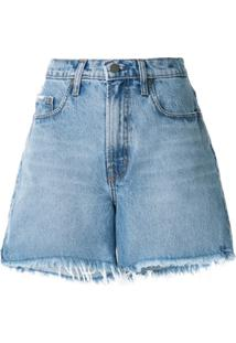 Nobody Denim Short Stevie - Azul