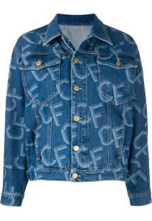 Chiara Ferragni Jaqueta Jeans Cf - Azul
