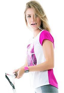 T-Shirt Vitta Urban Style - Feminino-Branco