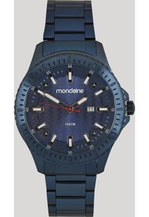 Relógio Analógico Mondaine Masculino - 83465Gpmves1 Azul - Único
