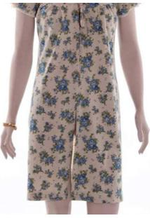 Robe Curto Rmb Lingerie Floral / Azul