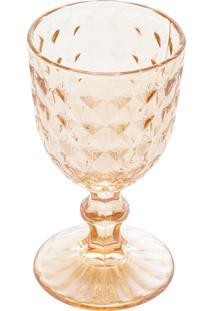 Conjunto 6 Taças Vidro Para Vinho Diamant Âmbar 245Ml