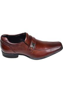 Sapato Masculino Social Rafarillo Marrom Mogno