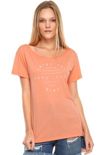 Camiseta Hang Loose Enjoy Coral