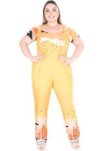 Macacão Saint Yves Ciganinha Styllo Amarelo