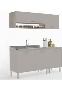 Cozinha Compacta Uccelli 5 Portas 600071 Moon - Vedere