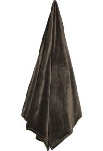 Cobertor Velour Neo Em Microfibra Casal- Marrom- 180Camesa