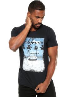 Camiseta Fiveblu Cali Preta