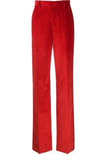 Dsquared2 Calça Monroe Cintura Alta - Vermelho