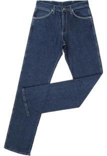 Calça Jeans Wrangler Cowboy Cut Masculina - Masculino-Azul