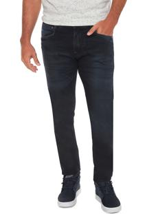 Calça Jeans Gangster Slim Azul