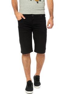 Bermuda Jeans Volcom 2X4 V Preta