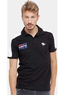 Camisa Polo Rg 518 Piquet Recorte Masculina - Masculino