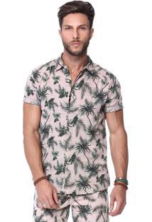 Camisa King&Joe Rosa Floral