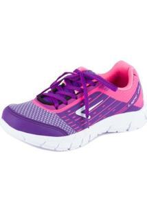 Tênis Running - Box 200 - Feminino-Roxo+Rosa