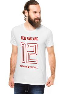 Camiseta Rgx New England American Football Branco