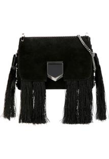 Jimmy Choo Bolsa Lockett Mini - Preto