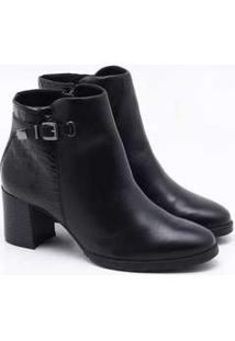 Ankle Boot Cravo Canela