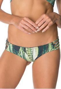 Calcinha Bikinito Lybethras Luna Palma Verde