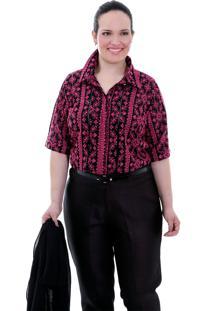 Camisa Dolce Vita Pink Plus Size